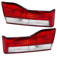 Picture of 01-02 Honda Accord New Pair Set Back-Up Back Up Light Trunk Lid Lamp Housing DOT