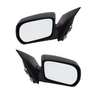 Picture of 01-06 Acura MDX New Pair Set Power Side View Mirror Glass Housing Heated Memory