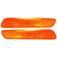Picture of 01-04 Volvo 40 Series New Pair Set Signal Side Marker Light Lamp Lens Housing SAE DOT