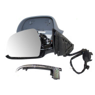 09-13 Audi A3 New Drivers Power Side View Mirror Glass Housing Heated Signal Power Folding