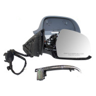 09-13 Audi A3 New Passengers Power Side View Mirror Glass Housing Heated Signal Power Folding