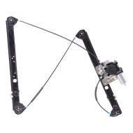 Picture of 00-06 BMW X5 New Drivers Front Power Window Lift Regulator with Motor Assembly