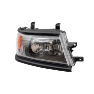 Picture of 00-04 Mitsubishi Montero Sport New Passengers Headlight Headlamp Lens Assembly with Black Bezel DOT