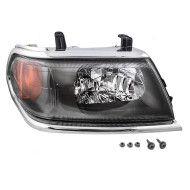 Picture of 00-04 Mitsubishi Montero Sport New Passengers Headlight Headlamp with Chrome Bezel DOT