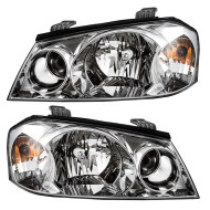 Picture of 01-02 Kia Optima New Pair Set Headlight Headlamp Lens Housing Assembly DOT Aftermarket