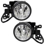 Picture of 00-04 Mitsubishi Montero Sport SUV New Pair Set Fog Light Lamp Housing Assembly SAE