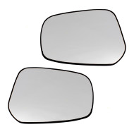 Picture of 15-17 Mitsubishi Lancer / Sportback & 15 Evolution New Pair Set Side View Mirror Glass w/ Base