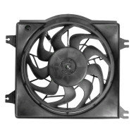 95-99 New Radiator Cooling Fan Motor Shroud  Assembly Aftermarket Replacement