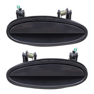 Chevrolet Oldsmobile Buick Pontiac New Pair Set Rear Outside Exterior Outer Door Handle Assembly