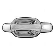 Chevrolet Colorado GMC Canyon Isuzu Pickup Truck New Drivers Outside Rear Chrome Specialty Door Handle Assembly