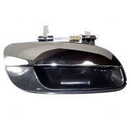 01-06 Hyundai Elantra New Passengers Outside Exterior Rear Door Handle Black Housing w/ Chrome Lever