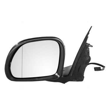 14 15 fiat 500l drivers side view power mirror heated blind spot glass. Black Bedroom Furniture Sets. Home Design Ideas