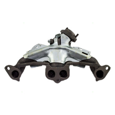 Picture of Jeep SUV Pickup Truck 2.5L New Exhaust Manifold Assembly with Heat Shield