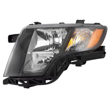 Ford Edge New Drivers Headlight Headlamp Lens Housing Assembly With Black Bezel Dot