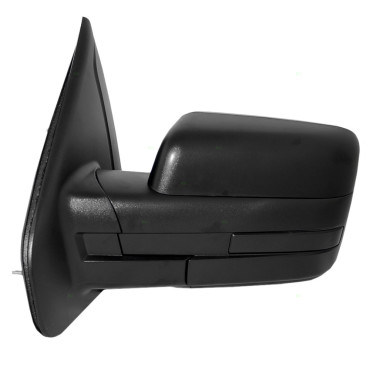 09-14 Ford F-150 Pickup Truck New Drivers Manual Side View Mirror Glass Housing Pedestal Type Assembly