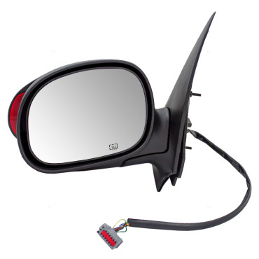 Picture of 00-02 FD EXPEDITION POWER MIRROR SMOOTH BLACK FOLDAWAY W/HEAT-MEMORY-SIGNAL LH 00-02 LN NAVIGATOR
