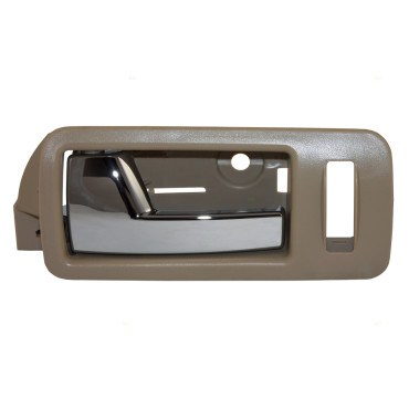 05 14 ford mustang drivers front inside chrome door handle w beige bezel for 2008 kia spectra interior door handle
