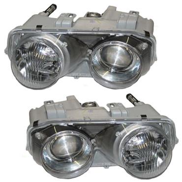 AutoandArtcom Acura Integra Set Of Headlights - Acura integra headlights