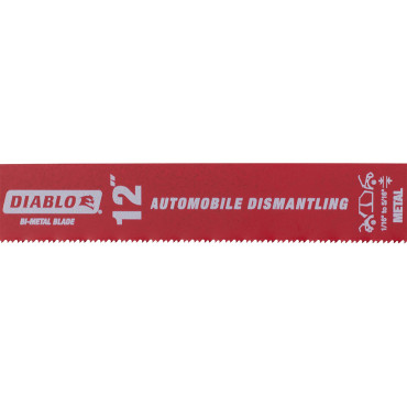 "Picture of DIABLO STEEL DEMON AUTO DISMANTLING/FIRE & RESCUE RECIPROCATING BLADE | BI-METAL | 12"" X 1""  14/18 TPI 