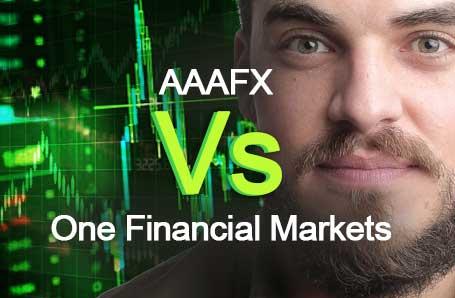 AAAFX Vs One Financial Markets Who is better in 2021?