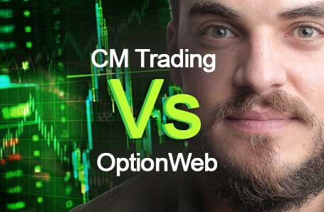 CM Trading Vs OptionWeb Who is better in 2021?