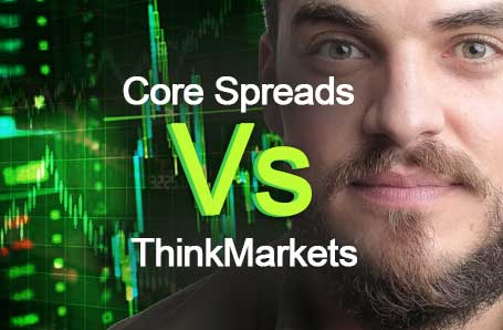 Core Spreads Vs ThinkMarkets Who is better in 2021?