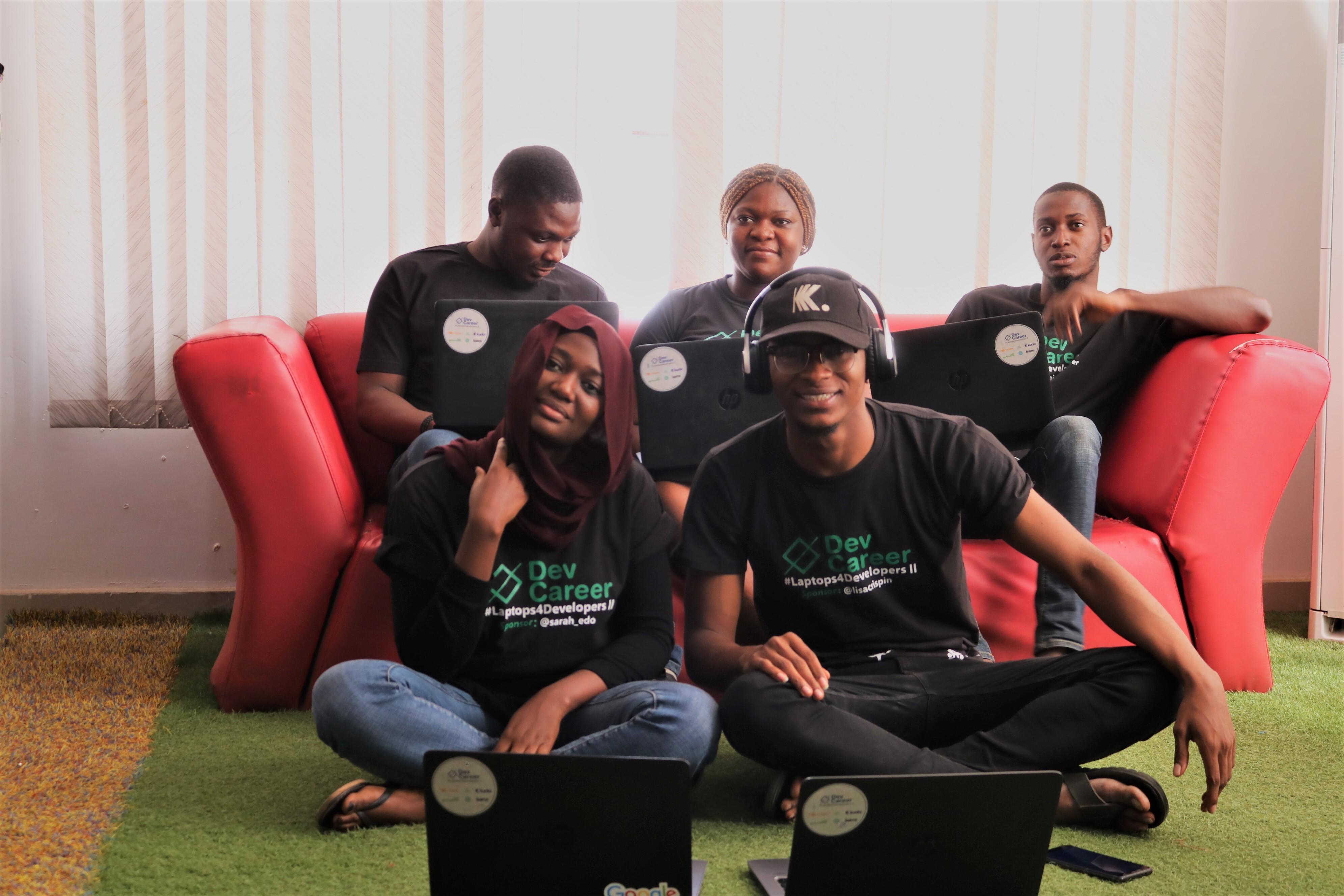 Cohort II interns at Wennovation Hub, Abuja