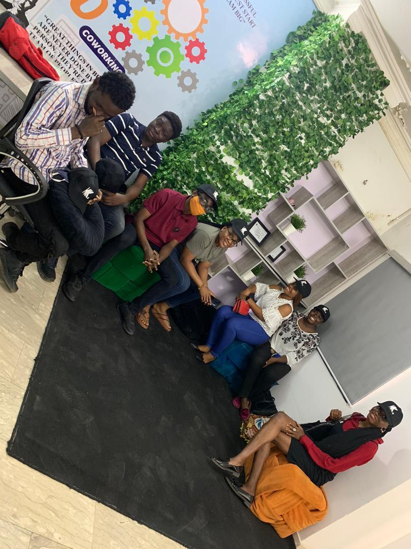Cohort II Interns in Lagos