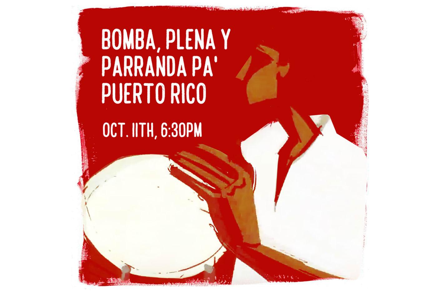 Bomba, Plena y Paranda Pa' Puerto Rico