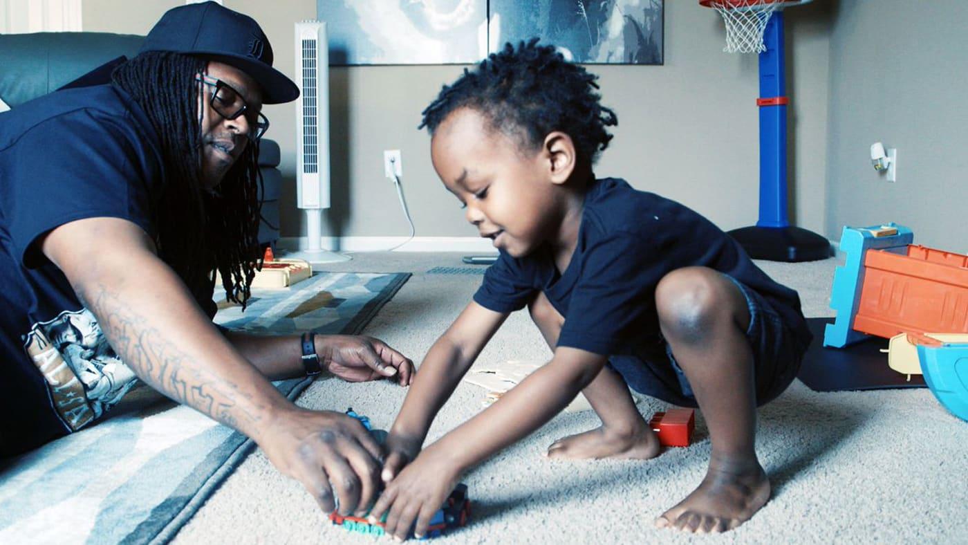 Portraying African American Fatherhood: POPS