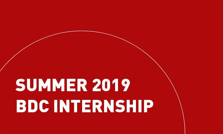 Summer 2019 Internship