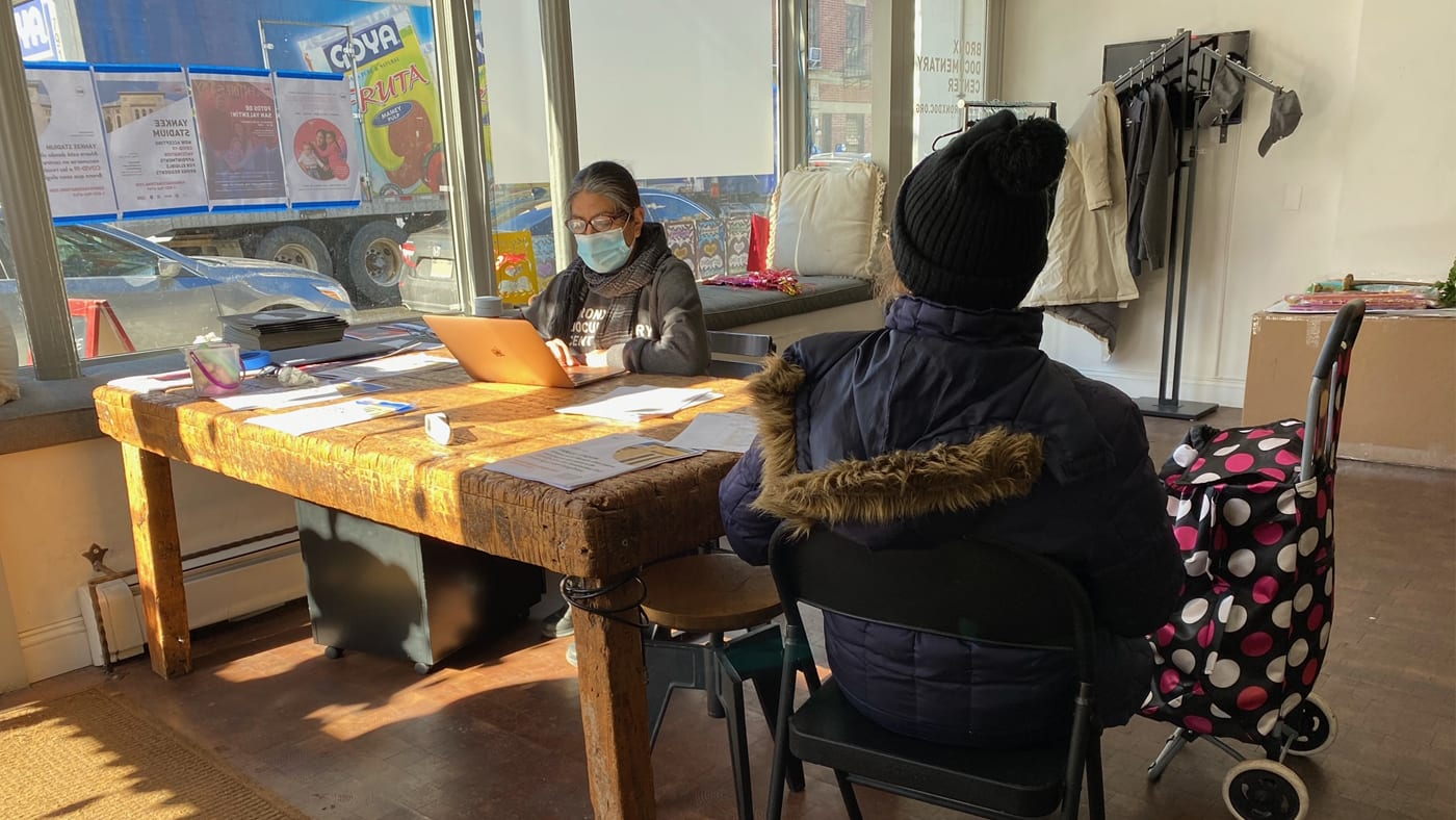 BDC ASSISTS IN COVID-19 VACCINATION SIGN-UPS