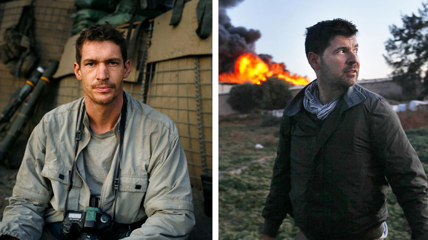 Hondros + Where's The Front Line From Here?