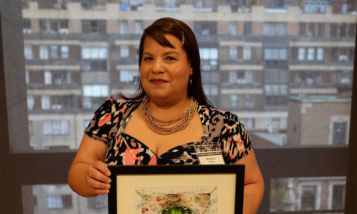Rhynna M. Santos Honored with Excellence in Creative Aging Award