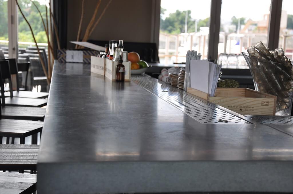 Concrete Bar Tops Brooks Custom Countertops