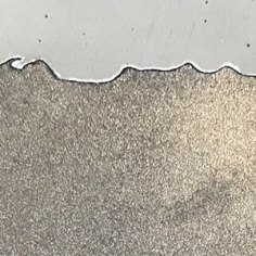 Grey Cement and Gold Metallic