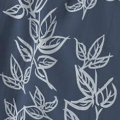 Soft Leaves Insignia Blue