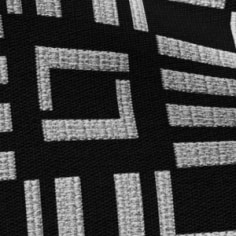 Windsor Black Print