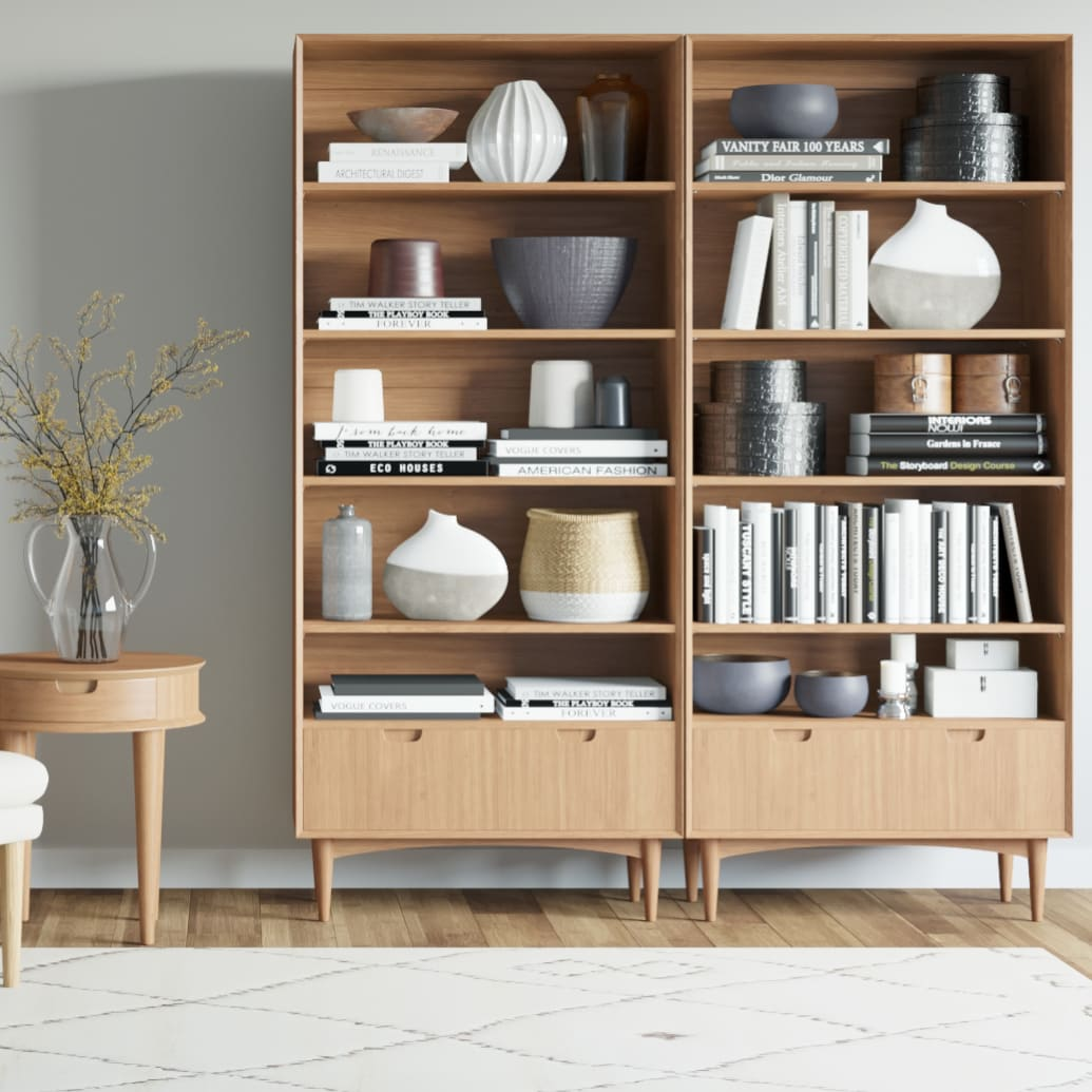 Bookcases and Standing Shelves