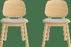 Matsumura dining chairs x 2
