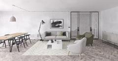 Eofy clean living room work space z
