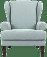 Robert armchair porcelain blue