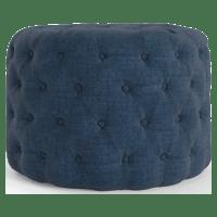 Marken Small Round Ottoman