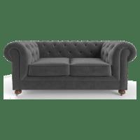 Notting Hill Velvet Chesterfield 2 Seater Sofa