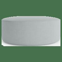 Alexa Large Round Ottoman