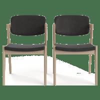 Ingrid 2x Modern Danish Dining Chair