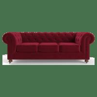 Notting Hill Velvet Chesterfield 3 Seater Sofa