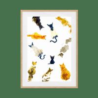 The Clowder Print
