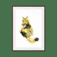 The Spectrum Cat Print