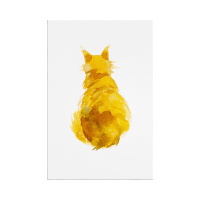 The Sunshine Cat Print